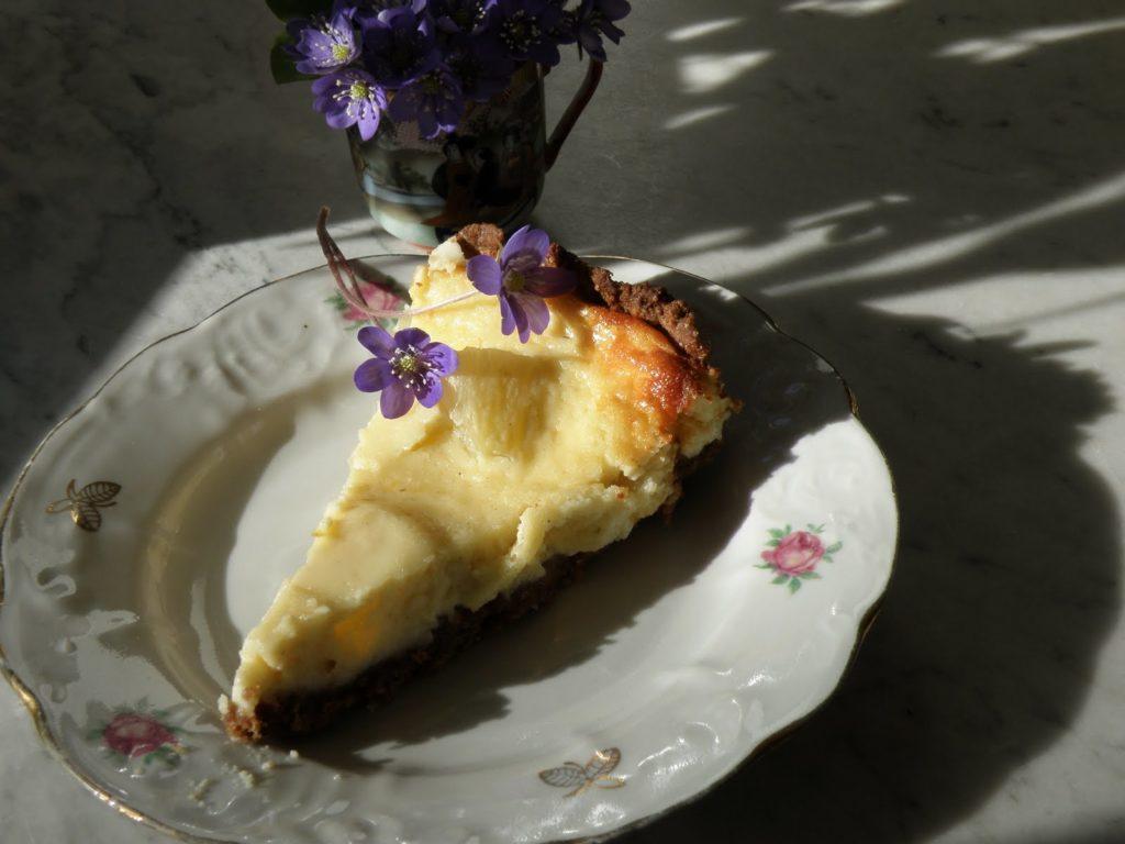 ananassikohupiimakookkakaopohjal